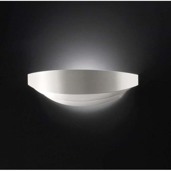 AP Uriel P lampada da parete in metallo curvato 120W R7s