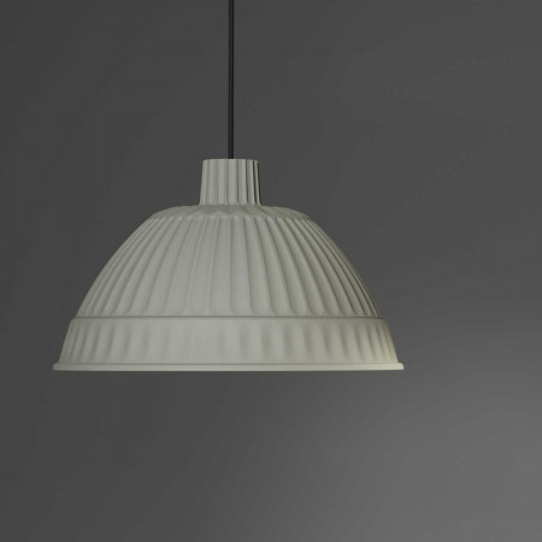 Diffuseur de lampe à suspension cloche en polymère plastique 40W E27