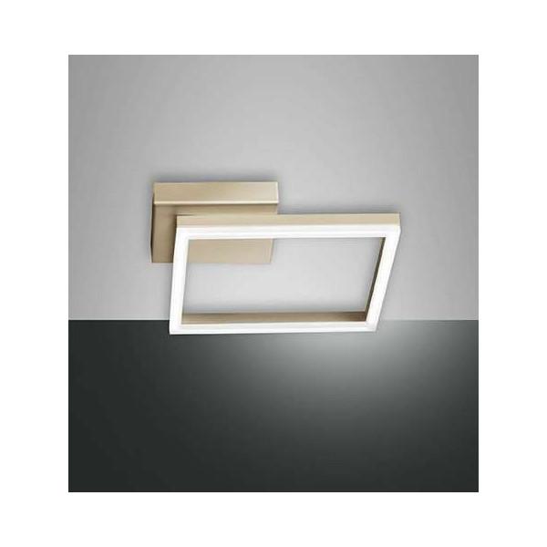 Bard Small Wall/Ceiling lamp aluminium and methacrylate frame Led 22W
