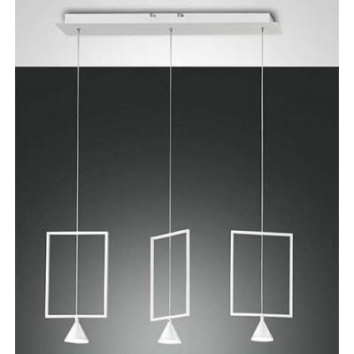 Lampe à suspension carrée...