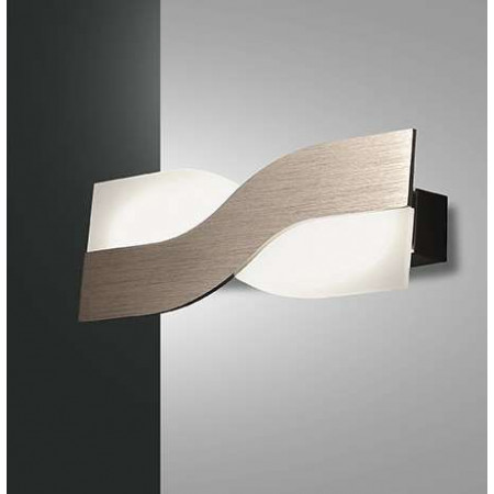Riace Small Wall lamp metal and methacrylate frame Led 10W