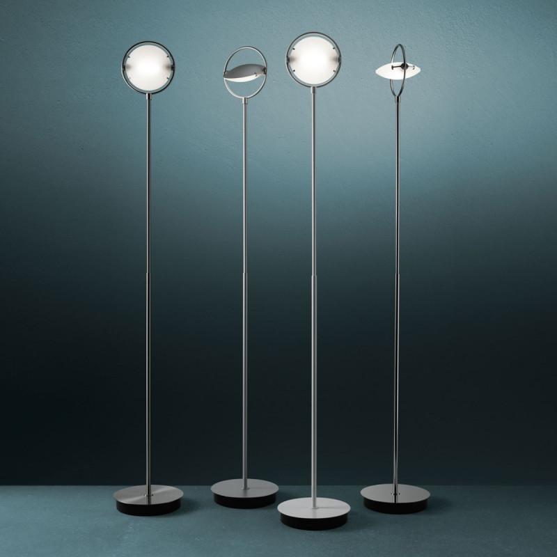 Lampada da Terra Fontana Arte NOBI 3026 Cromo / Vellini