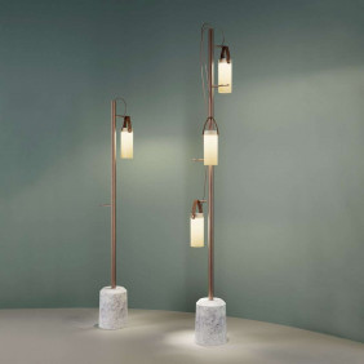 Galerie Floor lamp glass...