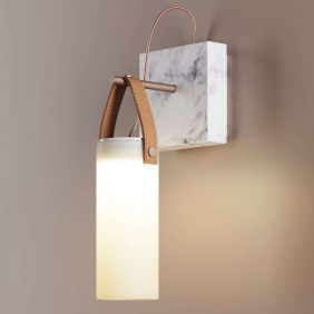 Galerie Wall lamp glass...
