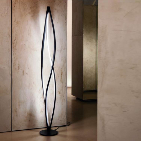 In The Wind Floor lamp aluminum body Led 20W 3000K