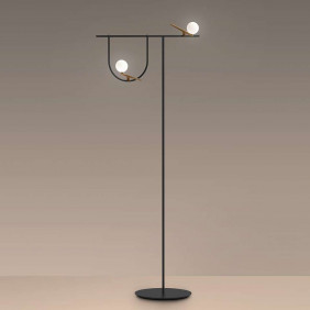 Yanzi Floor lamp white...