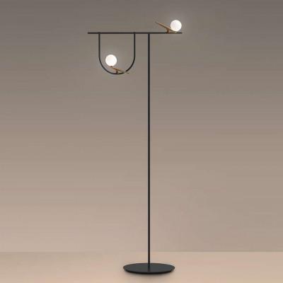Yanzi lampadaire sphère en...