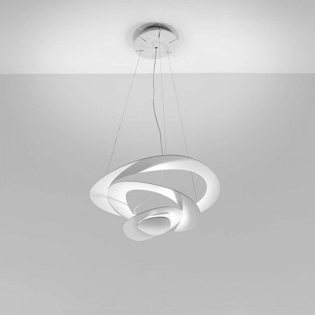 Pirce Mini Suspension lamp in painted aluminum Led 44W 3000K