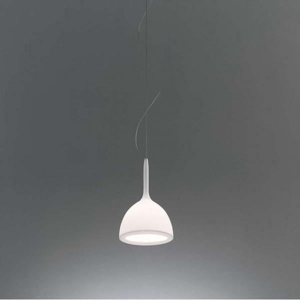 Castore Calice 18 Suspension lamp in blown glass 48W G9