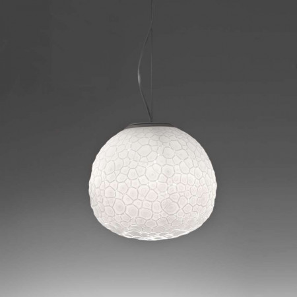Meteorite 35 lampada a sospensione diffusore in vetro a doppio strato 150W E27