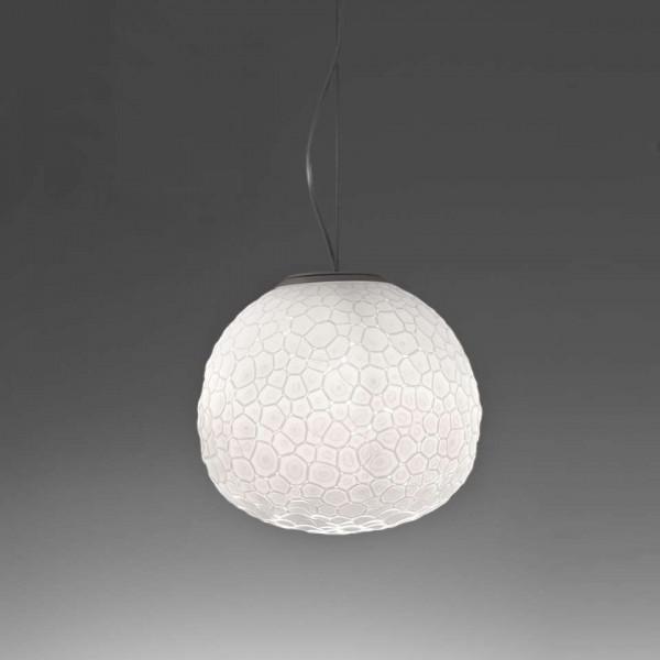 Meteorite 35 Lampe à suspension avec diffuseur en verre double couche 150W E27