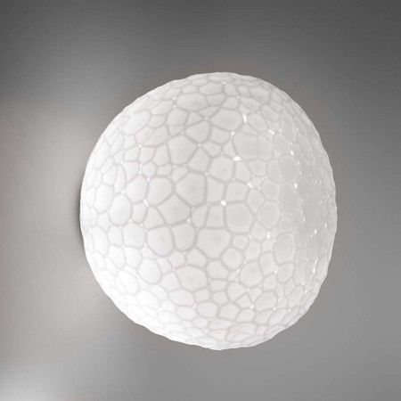 Meteorite 35 Wall/Ceiling lamp double layer glass diffuser 150W E27