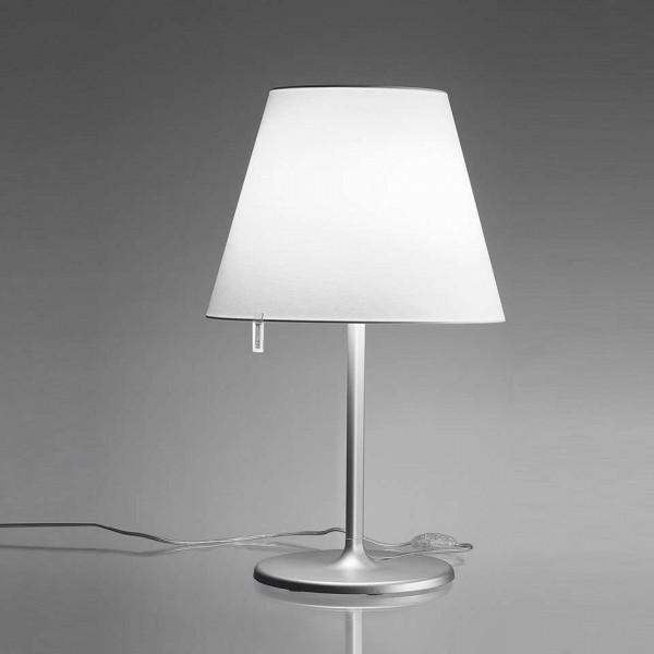 Diffuseur de lampe de table Melampo en satin de soie 57W E27
