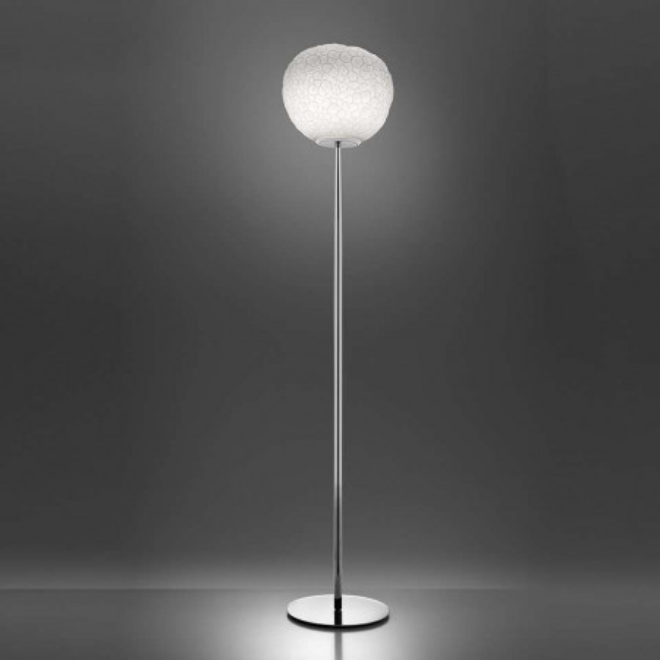 Meteorite 35 Stelo lampada da terra diffusore in vetro soffiato 150W E27