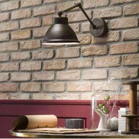 Il Fanale,wall, LOFT WALL C/SNODO 1 LIGHT