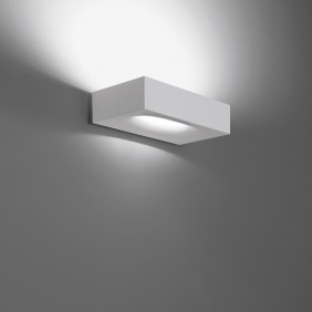 Melete Wall lamp in white painted