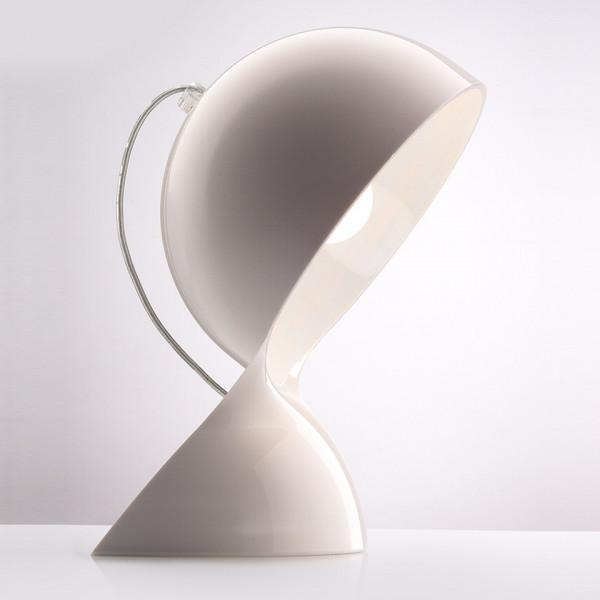 Lampe de table Dalù en matière thermoplastique 30W E14