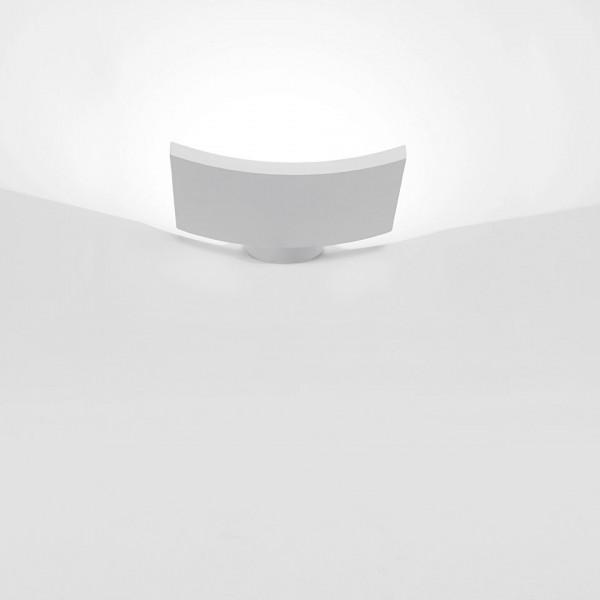 Microsurf lampada da parete in alluminio verniciato Led 20W 3000K