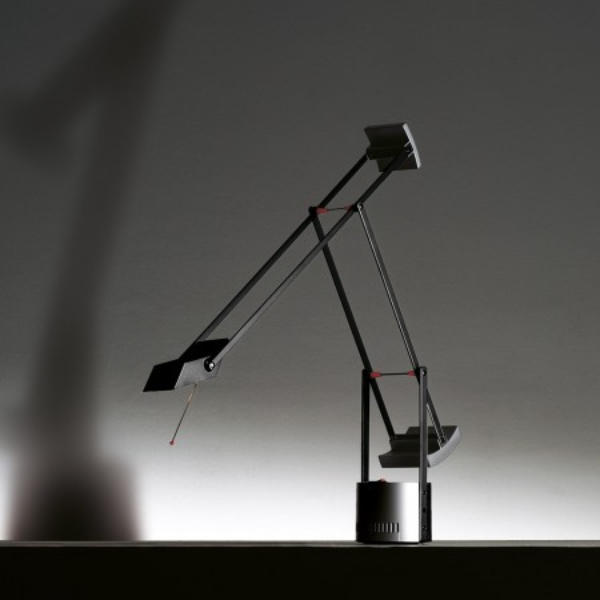 Lampe de table Tizio Micro en polycarbonate peint 20W G4