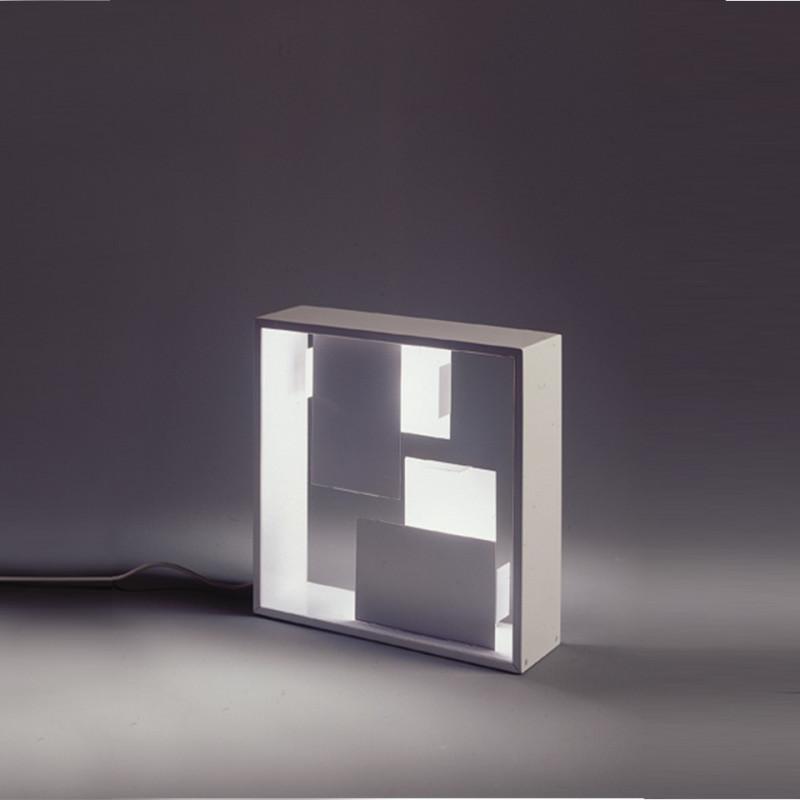 Fato lampada da tavolo struttura in