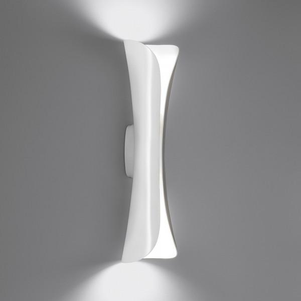 Cadmo Led lampada da parete corpo in acciaio verniciato
