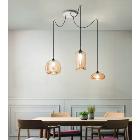 Fiona Suspension lamp white...