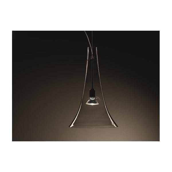 Olimpia S1 / S1D Diffuseur de lampe à suspension en verre blanc satiné 77W E27