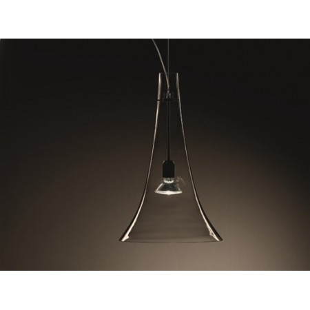 Olimpia S1/S1D Suspension lamp satined white glass shade 77W E27
