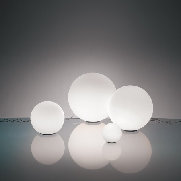 Lampe de table Dioscuri 25 en verre soufflé 77W E27