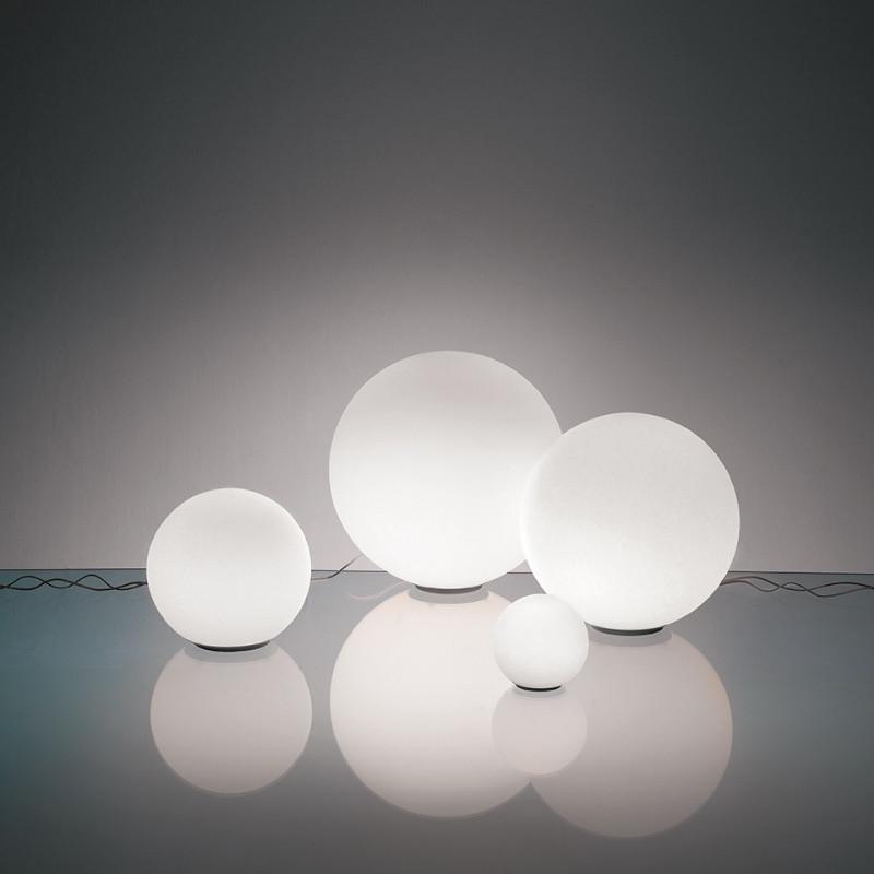 Lampe de table Dioscuri 35 en verre