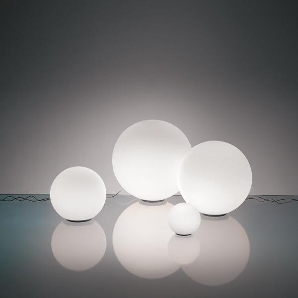 Dioscuri 14 lampada da tavolo in vetro soffiato 33W G9