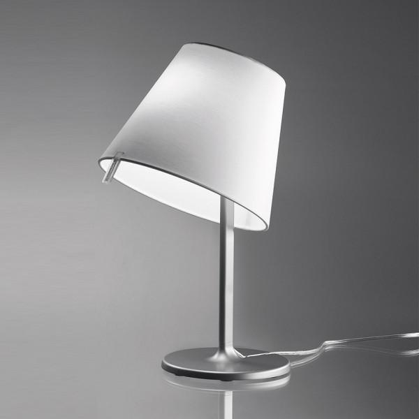 Melampo Notte Table lamp diffuser in silk satin fabric 46W E14