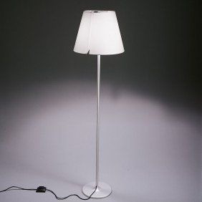 Melampo Floor lamp diffuser in silk