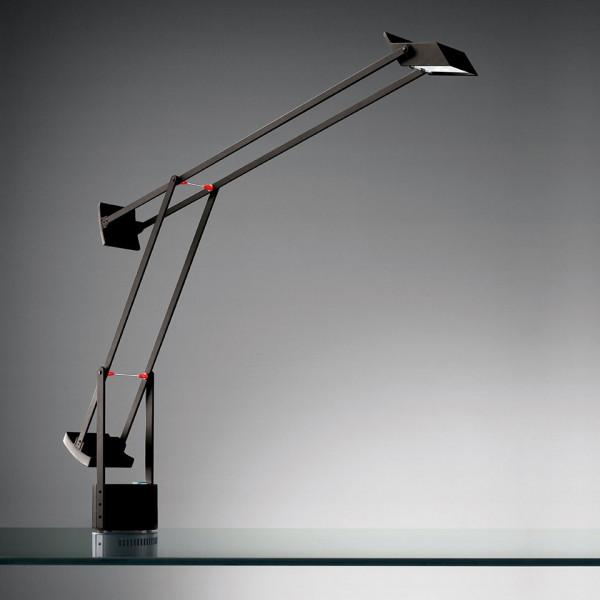 Tizio lampada da tavolo in policarbonato verniciato Led 8W 3000K