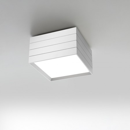 Groupage 32 Ceiling lamp body in extruded aluminum painted Led 23W 3000K