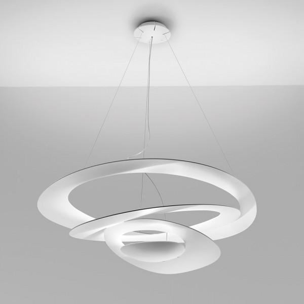 Lampe à suspension Pirce en aluminium peint