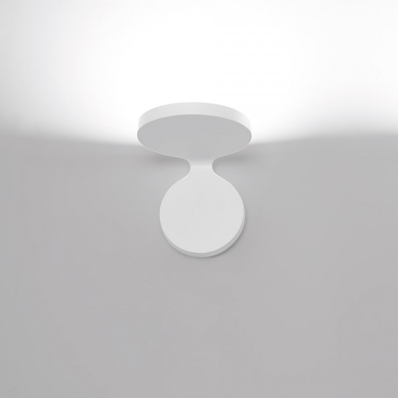 Rea 12 Wall lamp in painted aluminum Led