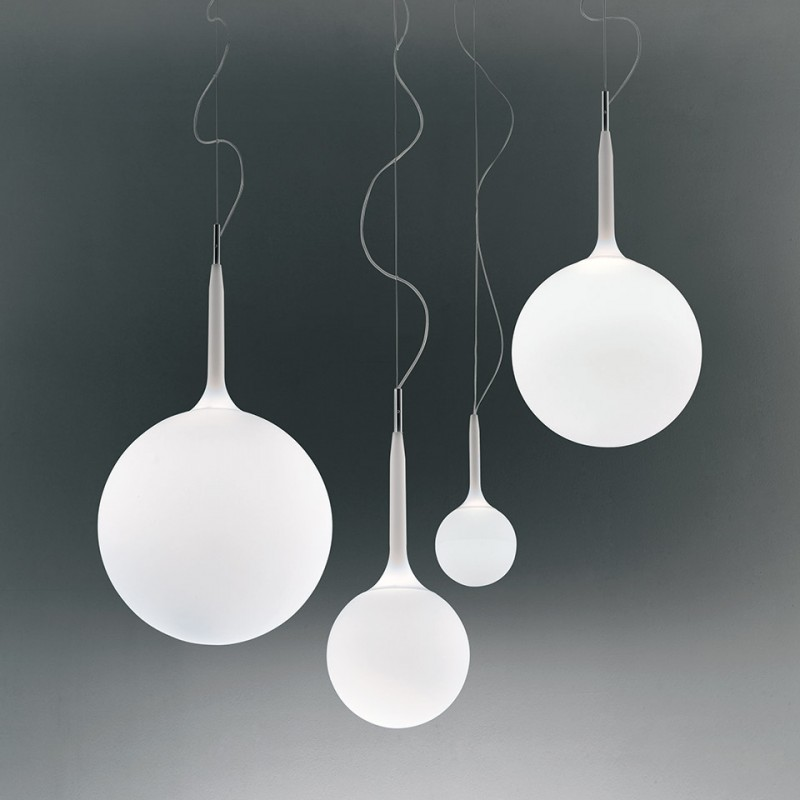 Castore 14 Lampe à suspension en verre