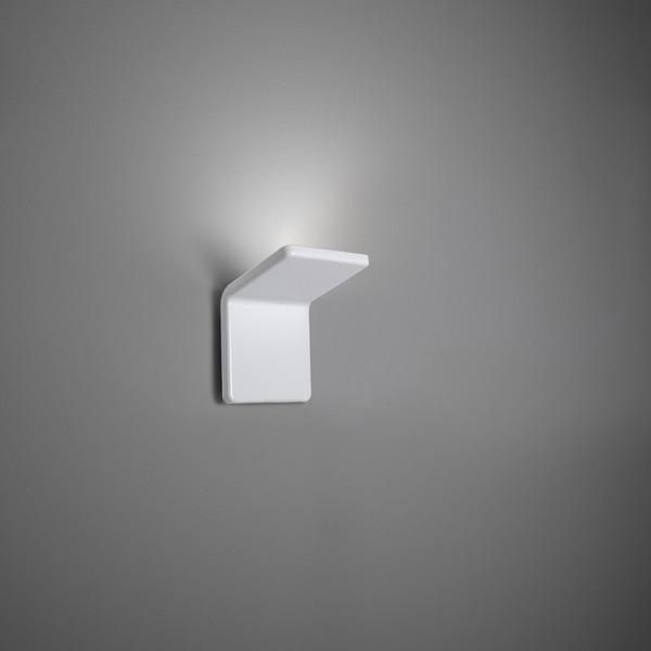 Cuma 10 Applique structure en aluminium peint blanc mat Led 14W 3000K