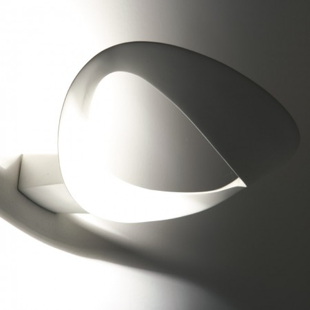 Mesmeri Halo Wall lamp white color 230W R7s