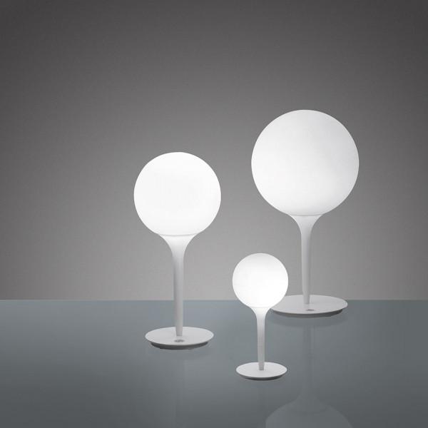 Castore 14 lampada da tavolo diffusore in vetro soffiato 48W G9