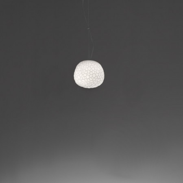 Meteorite 15 lampada a sospensione diffusore in vetro a doppio strato 48W G9