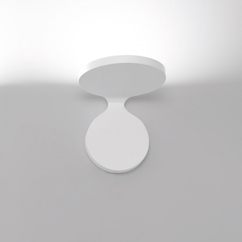 Rea 17 Wall lamp in painted aluminum Led