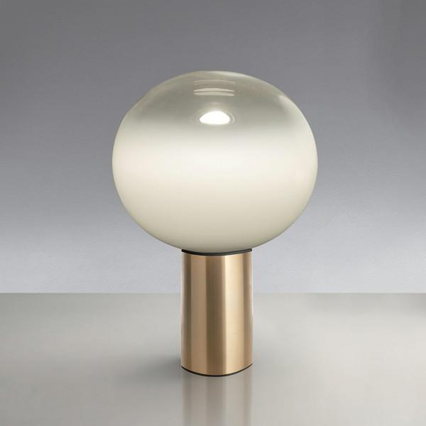 Lampe de table Laguna 16 avec diffuseur en verre soufflé