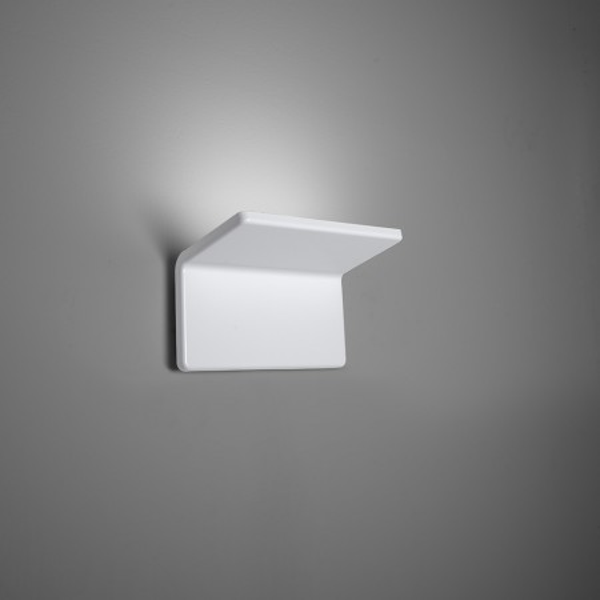 Cuma 20 lampada da parete struttura in alluminio verniciato bianco Led 28W 3000K