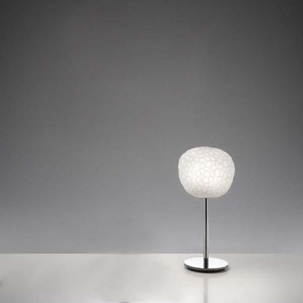 Meteorite 15 Stelo lampada da tavolo diffusore in vetro soffiato 48W G9