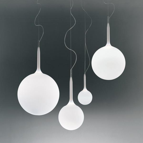 Castore 35 lampada a sospensione in vetro soffiato 150W E27