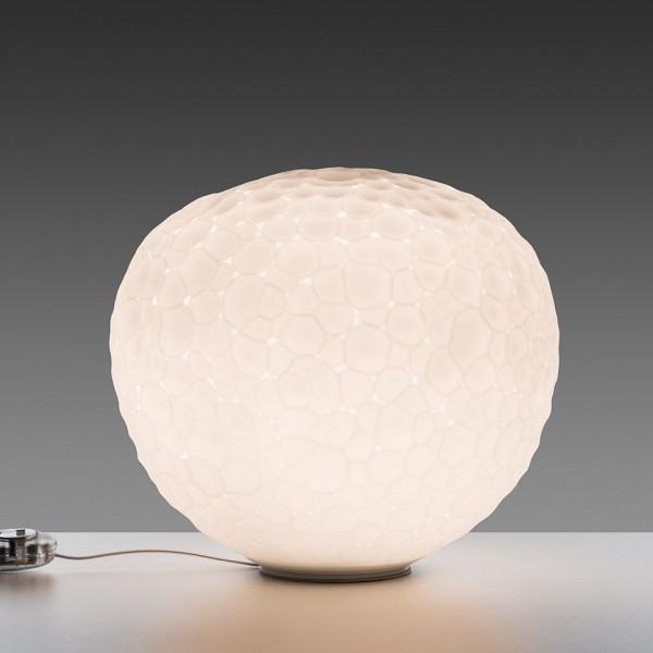 Diffuseur de lampe de table Meteorite 35 en verre soufflé 150W E27