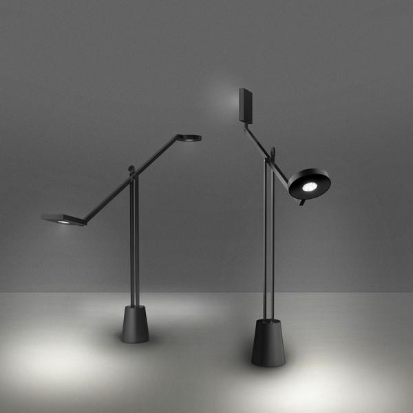 Lampe de table Equilibrist couleur noire Led 12W 3000K
