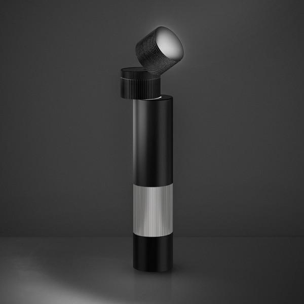 Objective lampada da tavolo corpo in alluminio verniciato